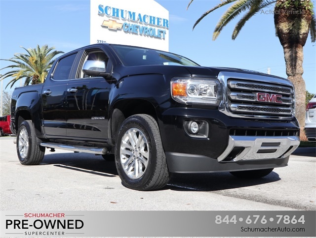 Certified Pre-Owned 2017 GMC Canyon SLT