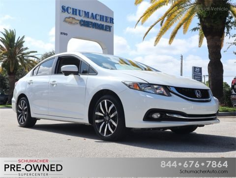 Pre-Owned 2014 Honda Civic EX-L