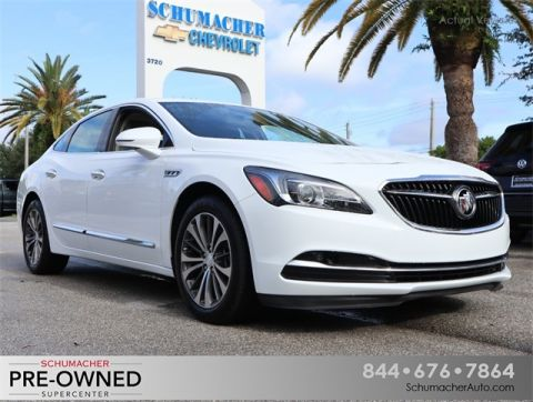 Certified Pre-Owned 2017 Buick LaCrosse Preferred